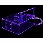Sunbeam Ultra-Tech Station Acrylic Case - UV Blue