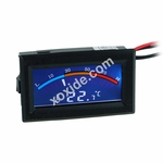 Temperature Sensor In-Line 2x G1/4 inner Thread with C/F Display