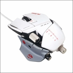 MadCatz Cyborg R.A.T. 7 Gaming Mouse - Albino Edition