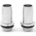 "Swiftech 1/4"" BSPP x 3/8"" Barb Chrome Plated Fitting (Set of 2)"
