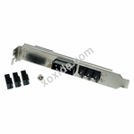 Phobya PCI Slot Cover 4Pin Molex & 3x 3Pin fan plug