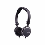 Evercool GCube Folding Headset w/ in-line Mic - Black