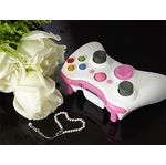 XCM Xbox 360 Wireless Controller Shell w/ New D-Pad - Pink Lady