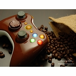 XCM Xbox 360 Wireless Controller Shell w/ New D-Pad - Coffee