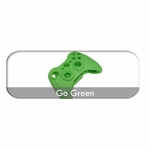 MadModz Go Green XBOX 360 Controller Controller Shell with Start/Select & Battery Pack