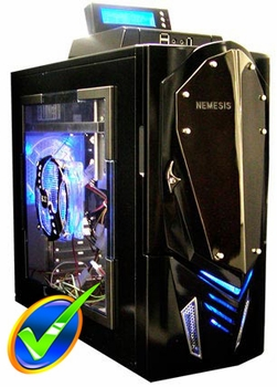 NZXT Nemesis Elite Gaming Case - Black
