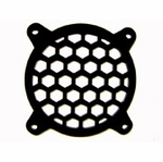 MNPCTech Honeycomb 80mm Fan Grill - Black