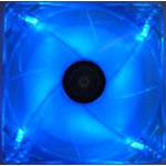 AeroCool Streamliner 140mm Fan (w/ 120mm adaptor) - Blue