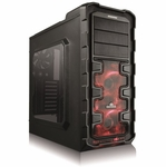 Enermax Ostrog GT Mid Tower Case - Red