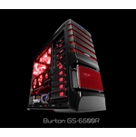 Sentey - GS-6500B Burton Full Tower Case - Red