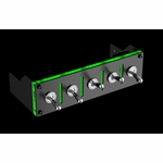 Lamptron Hummer 5-port Military Switch Baybus - Green