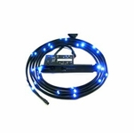 NZXT Premium Sleeved LED Kit (1 meter) - Blue