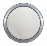 DEMCiflex 120 Magnetic Fan Dust Filter Round - Metallic Silver