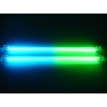 "Logisys 12"" Dual Cold Cathode Kit - Blue/Green"