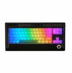 LUXEED U7 Crossover LED Illuminated Keyboard - Black