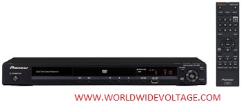 Pioneer DV-310-k Region Free DVD Player - Black Color -  Click to Enlarge