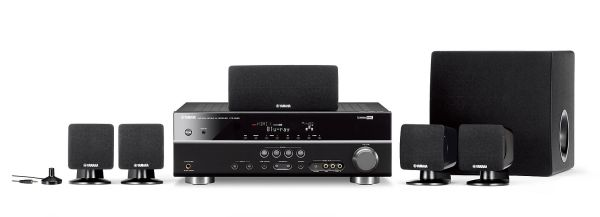 Yamaha yht-294d av receiver and speaker system pal ntsc a/v receiver for 110-240 volts