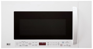 LG LMVM2085SW 2.0 cu. ft. Over-the-Range Microwave Oven FACTORY REFURBISHED (FOR USA) -  Click to Enlarge