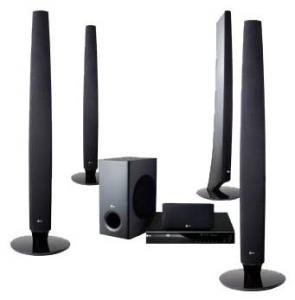 LG HT805TQ DVD REGION FREE HOME THEATER SYSTEM -  Click to Enlarge