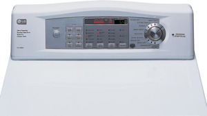 LG DLG5932W 7.3 cu. ft. Front Load Gas Dryer, FACTORY REFURBISHED (FOR USA)  -  Click to Enlarge