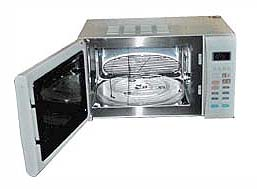 GE JEI872 FREE STANDING MICROWAVE OVEN WITH GRILL FOR 220 VOLTS -  Click to Enlarge