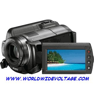 SONY HDR-XR200VE 120GB HIGH DEFINITION HANDYCAM PAL CAMCORDER  -  Click to Enlarge