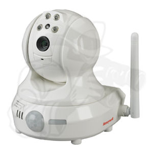 Honeywell Ademco AlarmNet Total Connect Wireless Pan/Tilt IP Video Surveillance Camera