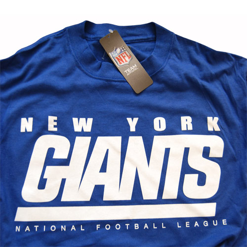 4759b1254 NEW YORK GIANTS NFL FOOTBALL T-SHIRT