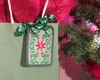 Holly Reusable Gift Tag