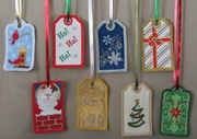 8 Pack of Reusable Gift Tags