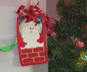 Santa Reusable Gift Tag