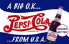 Pepsi Cola - A Big OK from the USA