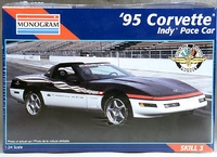 Monogram 1995 Corvette Convertible Indy Pace Car