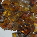 50 LBS Crystal Amber Landscape Glass