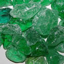 50 LBS  Crystal Green Landscape Glass