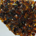 50 LBS Amber Brown Fire Ice