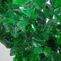 50 LBS  Green Landscape Glass