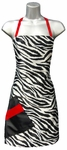 Zebra + Red Stylist Apron