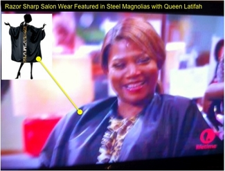 Queen Latifah Wears Razor Sharp Salon Wear