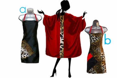 Leopard  + Red Cape Set<font size=2.5>