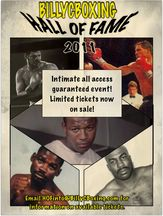 Billy C Boxing Hall of Fame All-Day Banquet - Saturday November 19, 2011 - Upstate New York