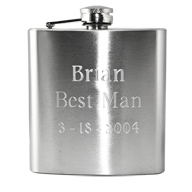 Custom Engraved Hip Flasks
