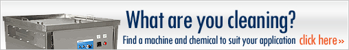 What are you cleaning? Find a machine and chemical to suit your application - click here