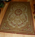 Chinese Aubusson Needlepoint 5'X 8' Wall Hanging/Rug