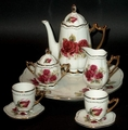 Miniature / Doll Child's Tea Set with a Lovely Rose Design