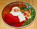 Collector Plate Rockwell Annual Santa Collection Series Santa�s Golden Gift
