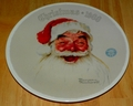 1988 Plate Santa Claus Series Name Annual Holiday Plate