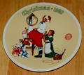1992 Plate The Christmas Surprise Series Name Annual Holiday Plate