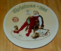 1996 Rockwell Plate And To All A Good Night Series Name Annual Holiday Plate