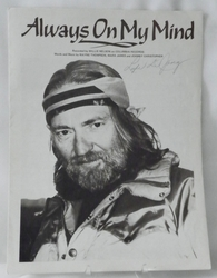 Sheet Music Always on My Mind 1979